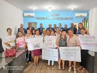 Servidores da Assistência Social municipal comparecem a Câmara e reivindicam o apoio do Legislativo em prol de recursos e  manutenção dos Projetos Assistenciais.