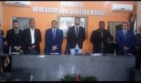 Prefeito Marcio Lima e o Vice Mauricio Lisboa foram diplomados e tomaram posse dos seus cargos nesta quinta feira, 30 de Maio