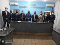 Prefeito, Vice e Vereadores tomam posse em Sessão Solene