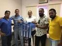 """Projeto Social 'Furacão""""recebe apoio de Vereadores e prefeito."""